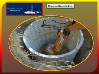 Cesspool Installation