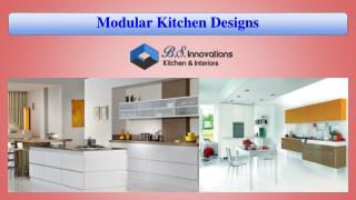 Modular Kitchen Designs for Making Your Home Elegant