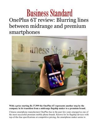 OnePlus 6T review: Blurring lines between midrange and premium smartphones