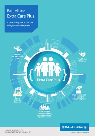 Extra Care - Extended Health Cover Health Insurance Plan - Bajaj Allianz