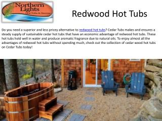 Buy Best Qaulity Redwood Hot Tubs