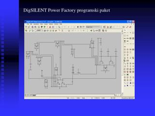 DigSILENT Power Factory programski paket