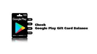 Check Google Play Card Balance Online - Onlinebalances.com