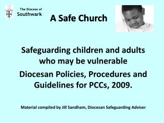A Safe Church