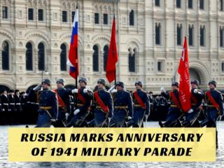 Russia marks anniversary of 1941 military parade