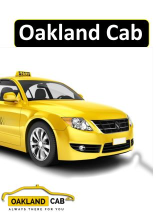 Oakland Cab | Oakland Airport Shuttle Service