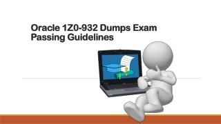 Valid Oracle 1z0-932 Practice Exam Questions - Dumpsout