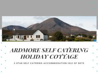 Ardmore Self Catering Holiday Cottage
