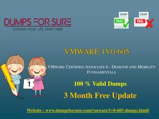 Easy Way To Get Success In VMware 1V0-605 Exam With New 1V0-605 PDF Dumps