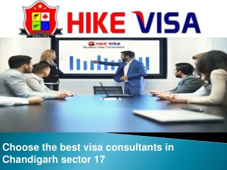 Search the Best Visa Consultants in Chandigarh Sector 17