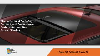 Top Investment Pockets Automotive Sunroof Market