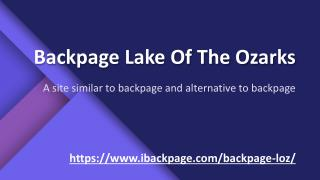 Backpage Lake of the Ozarks | alternative to backpage | site similar to backpage | ibackpage