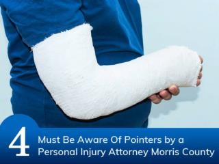 4 Must Be Aware Of Pointers by a Personal Injury Attorney Morris County