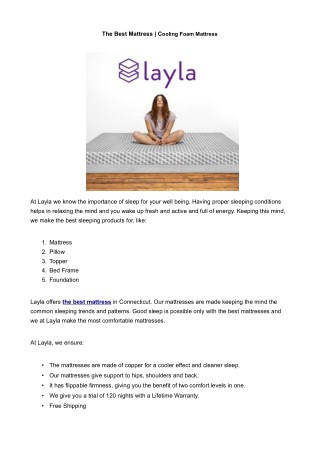 Best bed for Lower Back Pain - Shop The Mattress
