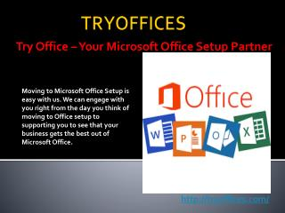 Microsoft office Setup Support