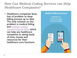 Avail Medical Coding Services| Medical Coding Outsourcing at Low-Cost- SSR TECHVISION