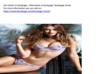 site similar to backpage   Alternative to backpage  backpage minot