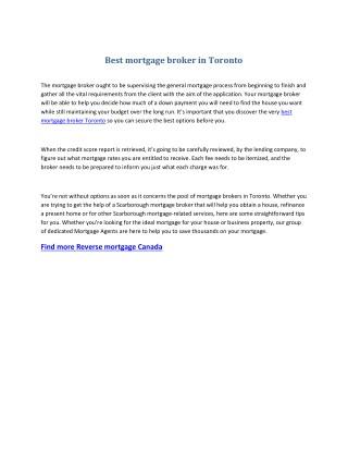 Rental property mortgage
