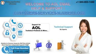 AOL Email Help & Support | Technician Support