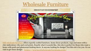 Contemporary furniture|Classic furniture