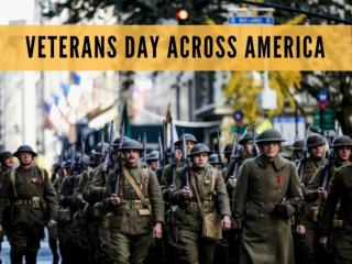 Veterans Day across America 2018