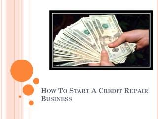 Best quality credit repair training online