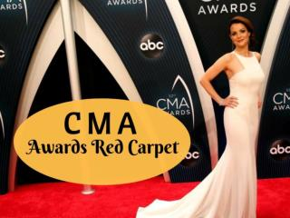 CMA Awards red carpet 2018