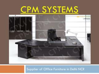 Importance of the right Modular Office Furniture Supplier You should Know