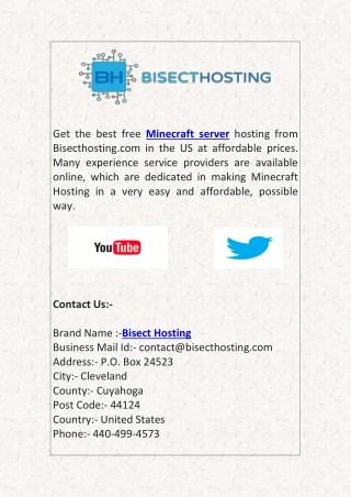 Best Free Minecraft Servers Hosting
