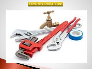 Emergency plumbing nassau