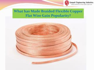 What has Made Braided Copper Flat Wire Gain Popularity?