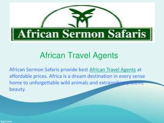 African Travel Agents
