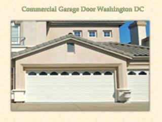 Commercial Garage Door Washington DC