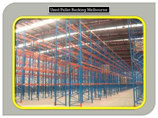 Used Pallet Racking Melbourne