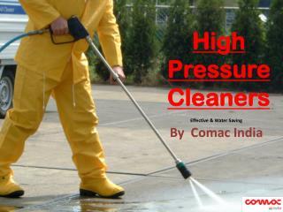 High Pressure Cleaners