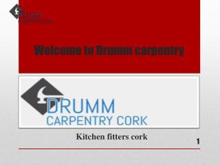 Kitchen fitters cork - Drumm carpentry