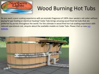 Buy Best Qaulity Wood Burning Hot Tubs