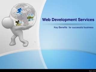 Key Benefits of Offshore Web Development Services