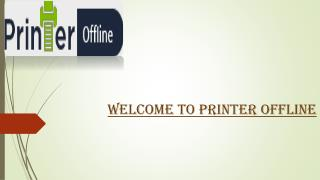 Complete Guide to Fix Printer Offline Problem in Windows 10