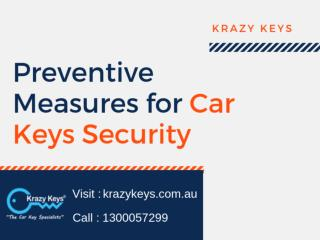 Find How to Secure Your Car Keys From Theft   Krazy Keys