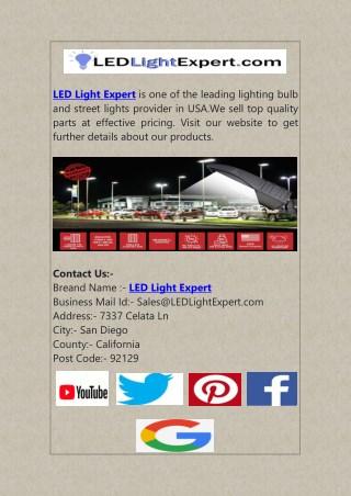 LED Light Expert - Get Quality LED Light Bulbs