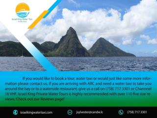 St Lucia Excursions : israelkingwatertaxi.com