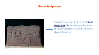 Antique decor |Stone sculptures from Africa