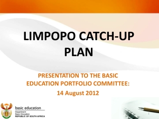 LIMPOPO PROVINCE DEPARTMENT OF EDUCATION