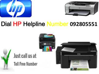 Dial HP Printer Customer Support Number 092805551 and get instant solution