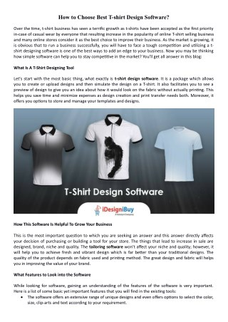 Importance of Apparel Design Software for Your E-Commerce Business