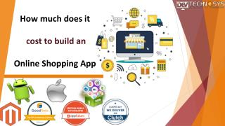 How much does it cost to build an online shopping app?