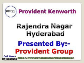 Provident Kenworth Rajendra Nagar Hyderabad-Flat for sale