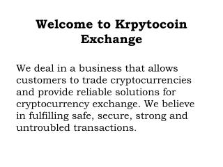 Start to trade with the most secured cryptocurrency trading platform