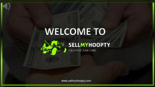 Cash For Junk Cars In Tampa - SellmyHoopty